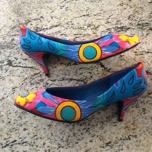 Vintage Colorful Heels